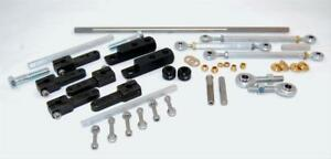 Aed 7250 Performance Throttle Linkage Kit Dual Quad Sideways Mount Holley Carter