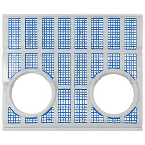 Metal Grille W Inset Lights Ford 2000 2150 2300 2310 3000 4000 5000 7000 7200
