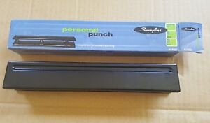 Swingline Personal Punch 3 Holes 6 Sheets Black