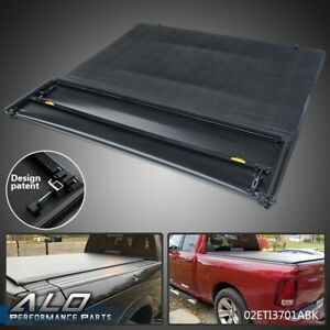 Four Fold Tonneau Cover For 2002 2017 Dodge Ram 1500 2500 3500 6 5ft Bed