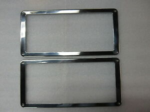 Nos 1956 1957 Pontiac Buick Accessory License Plate Frame Set Gm 988606
