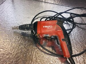 Hilti Drywall Screw Gun Drill Driver Sd4500 6 5amp 120v Corded Great Condition