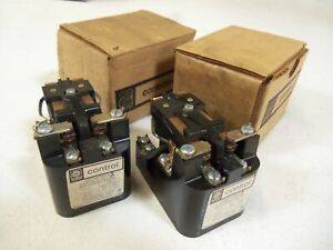 Lot Of 2 General Electric Control Relay Cr2790e100ca used