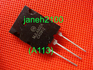 50p Mjl4302a Audio Power Amplifier Transistor New Free Shipping a113