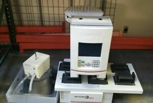 Tomtec Quadra 3 Model 300 10 Liquid Handler For Parts