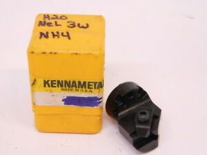 New Kennametal Carbide Insert Interchangeable Boring Head H20 nel3w ng 3r