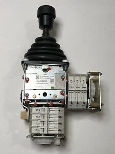 New Gessmann Gmbh V6 Multi axis Controller Joystick Knob Switch Crane Hoisting