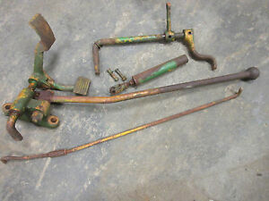 John Deere 80 820 830 Foot Throttle Set Very Rare