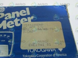 General Electric Panel Meter 0 15a 250340ndnd new In Box