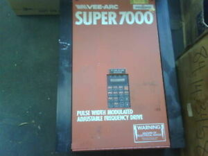 Vee arc Super 7000 931 1016 Frequency Drive used