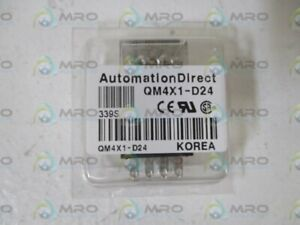 Lot Of 7 Automation Direct Qm4x1 d24 Relay original Package