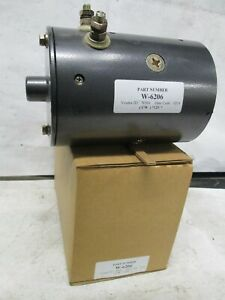 Western Motors W 6206 Lift Motor For Western Fisher Plows