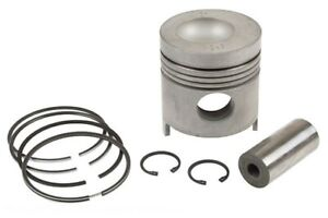 Piston With Rings Standard Ford 7600 7610 7700 7710 Tractor