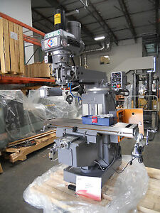 Precision Vertical Turret Milling Machine Mf 450vs