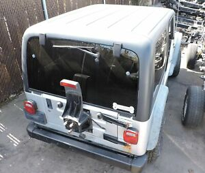 1997 2006 Jeep Wrangler Tj Hardtop Black Hard Top Oem Mopar