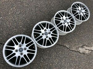 15 Ford Focus Oem Factory Stock Wheels Rims 4x108 Fusion Very Clean