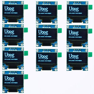 10x 128x64 Oled Ssd1306 Lcd Display Module For Arduino 0 96 I2c Iic Serial Blue