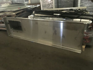 8 1 2 Stainless Steel Lab Casework Counter Top With Sink