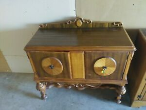 Vintage Antique Solid Wood Vanity Dresser