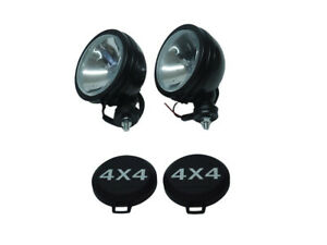 2pcs Six Inch 6 Off Road Light Driving Fog Light Black Housing With Cover A1