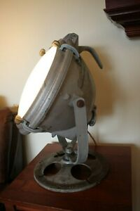 Vintage Crouse Hinds Maritime Search Light Works Industrial Lighting Cool