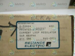 Reliance Electric Board 0 52824 Current Loop Regulator New In Box