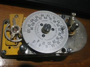 Vault Timer Made By Kumahira Safe Co Japan 11 Jewel Precisionmatic Working