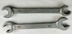Cornwell Flare Wrenches Cwf12 Cwf14 Open End Box Wrench 11 16 3 4