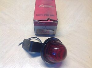 Nos Arrow 31 Clearance Light Nib Vintage Truck Bus Lamp Amber Arrow Glass Lens