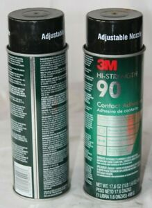 12 New Cans 3m Hi strength 90 Contact Spray Adhesive