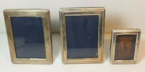 Lot 3 Francis Howard Sterling Silver Picture Frames Vintage Ms80