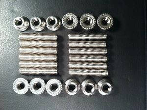 Dodge Cummins Diesel 5 9 6 7 Stainless Exhaust Manifold Bolts Studs Anti Sieze