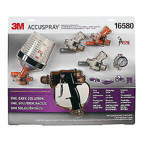 Accuspray Spray Gun System With Pps 3m Company 16580 3m