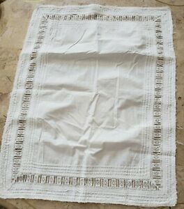Pre Owned Antique 1920 S Pillow Toppers Table Toppers Victorian Lace Trim