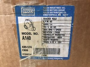 Fasco Blower In Stock | JM Builder Supply and Equipment