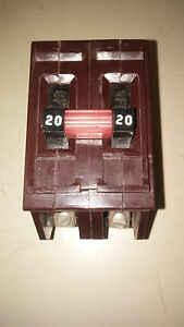 Wadsworth A220 Used 2p 20a 240v Breaker See Pics Excellent Condition b27