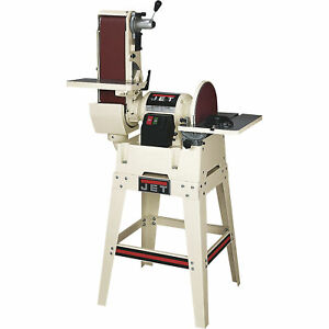 Jet Combination Belt disc Sander W open Stand 708599k