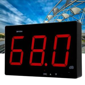 High Quality Sw 525a Wall Mounted Lcd Display Digital Sound Level Meter Usb