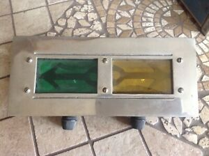 Early Arrow Turn Lamp Auto Truck Light Unique Vintage Direction Signal