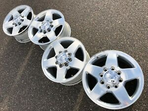 20 Gmc Sierra 2500 Hd Slt Denali Oem Factory Stock Wheels Rims 8x180 Chevy