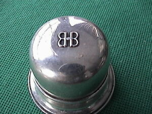 Vintage Birks Sterling Silver Dome Ring Box As Is