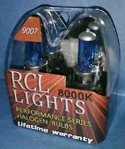 New 55 65w 9007 Hb5 Xenon Hid Look 8000k Blue White Halogen Hi Lo Beam Headlight