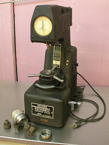rare Wilson Rockwell 1yr A Hardness Tester Materials Testing Lab W accessories