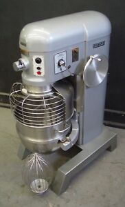 Hobart 60qt 60 Qt Dough Mixer H600 With Safety Cage 2 Hp three Phase 1263