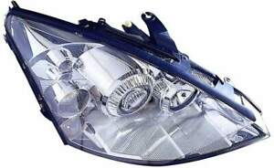 For 2002 2003 Ford Focus Headlight Headlamp Passenger Side Replacement