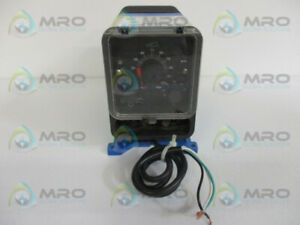 Pulsafeeder Lpg4ma ats4 xxx Electronic Metering Pump Used