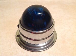 Blue green Nos Marker Light Clearance Lamp Vintage Truck Van Bus Trailer Unique
