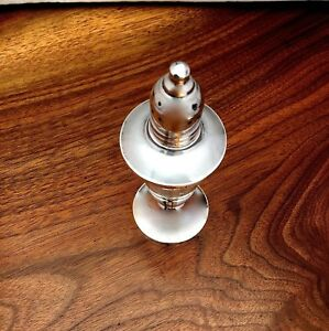 Duchin Creations Sterling Silver Weighted Salt Or Pepper Shaker