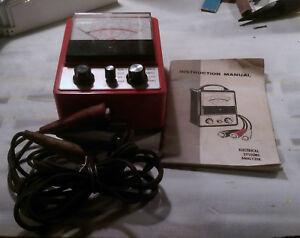 Auto Electrical Systems Analyzer Mac Tools Et 9600 Used