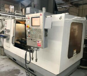 Haas Vf 4ss Vmc 12 000 Rpm And 50 X 20 X 25